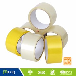Yellowish BOPP Adhesive Packing Tape with Strong Stickiness pictures & photos