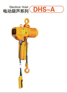 Electric Chain Hoist with Electric Trolley 380V/50Hz pictures & photos