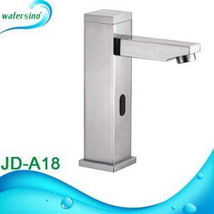 SUS304 Square Sensor Faucet Automatic Basin Mixer pictures & photos