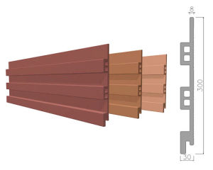 Sunscreen Special-Shape Terracotta Cladding Panel pictures & photos