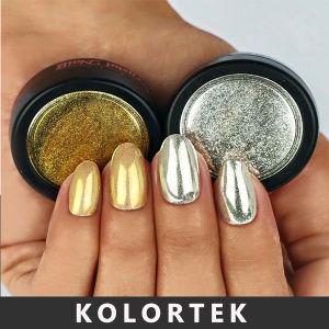 Non-Toxic Mirror Effect Nail Pigment, Hot Sale Mirror Nail Polish Pigment Powder pictures & photos