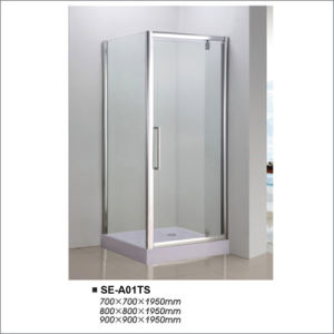 5~6mm Glass Two Door Compact Shower Surrounds 700*700*1950 pictures & photos