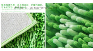 Chenille Double Color Soft Door Mat with Non-Slip Base Carpet pictures & photos
