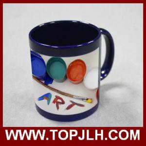 11oz Colorful Part Color Change Mug Magic Ceramic Cups