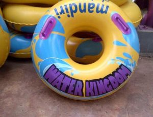 Inflatatble Toys Inflatable Double Ring Float pictures & photos