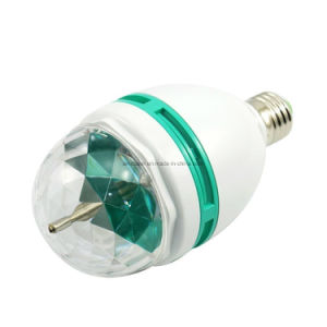 Wholesale Colorful LED Rotating Bulb 3W RGB LED Crystal Magic Ball Light Disco Light pictures & photos