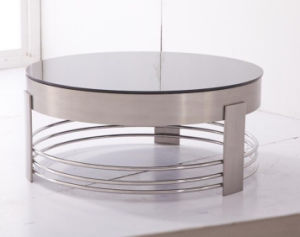 Round Coffee Table, Tea Table, Living Room Table, Office Coffee Table T-98 pictures & photos