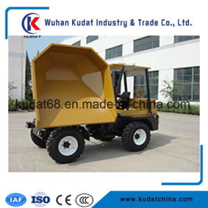 4WD 3tons Concrete Site Dumper (SD30R) pictures & photos