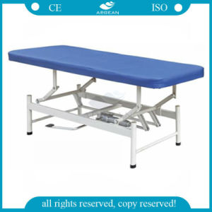 AG-Ecc08 Adjustable Hospital Physical Therapy Stainless Steel Medical Exam Bed pictures & photos