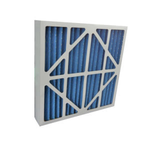 Cardboard Frame Pleated Panel Pre Air Filter pictures & photos