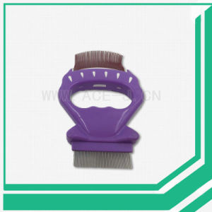 High Quality Pet Brush Shell Shape Comb Needle Comb for Pet pictures & photos
