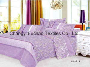 China Suppliers Poly/Cotton Bedding Set Manufacture Wholesale Disposable Bed Sheet pictures & photos