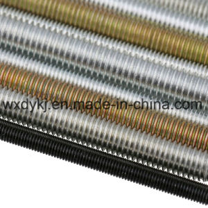 Carbon Steel Zinc Plated Threaded Stud Rod pictures & photos