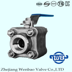 Wb-01 A105 Forged Steel High Pressure Ball Valve 3000psi pictures & photos