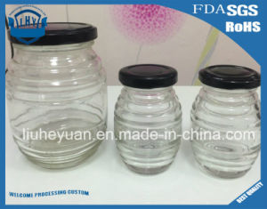 High-End Glass Jar for Honey, Jam, Food, Pickle Glass Bottles 700ml pictures & photos