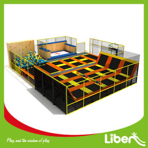 Cheap Indoor Trampoline for Toddler Commercial Big Indoor Trampoline pictures & photos