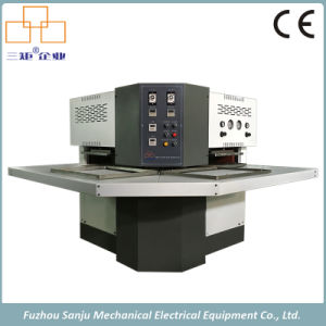 Non Sewing Heat Press Molding Machine for Shoes Vamp and Slipper pictures & photos