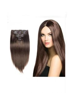 """16""""-26"""" Clip in Straight 100% Remi Hair Extension"""
