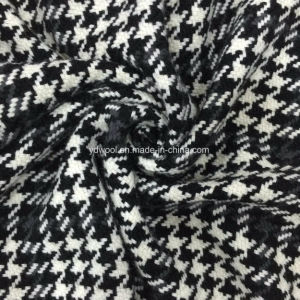 Kinds of Houndstooth Wool Fabric Black & White pictures & photos