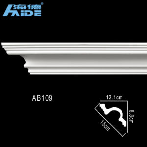 2015 Decorative Cornice PU Foam Crown Molding/PU Cornices Moulding pictures & photos