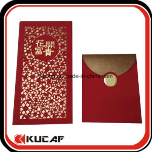 Professional Factory Custom Luxury Envelope Printing Red Packet pictures & photos