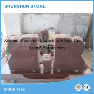 American Style India Red Granite Grave Monuments for Sale pictures & photos