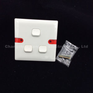 ABS Material 3 Gang 1way or 2way Switch (WS631) pictures & photos