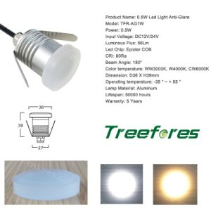 IP67 Moon Light 0.5W 12V 24V Anti-Glare LED Lighting Outdoor pictures & photos