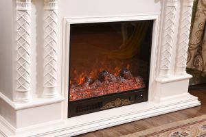 Ce Approved Home Furniture LED Sculpture Electrical Fireplace (320S) pictures & photos
