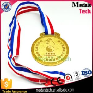 65mm Size Gold Silver Bronze Cheap Sports Blank Medal pictures & photos