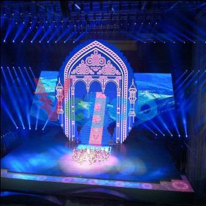 Performance Stage HD Video Wall LED Display for Rental (P4.8)