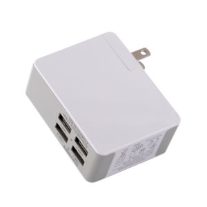 5V 4.8A 24W USB Smart Travel Wall Charger with Interchangeable Plug pictures & photos