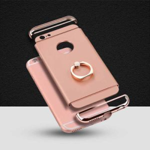 3 in 1 Electroplating Anti Fall Holder Phone Case for iPhone6/6s7/ 7 Plus/ 6plus pictures & photos