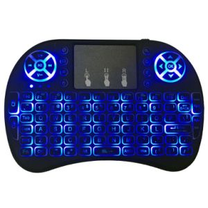 Hot Selling I8 2.4GHz Wireless Mini Keyboard Air Mouse with Backlight pictures & photos