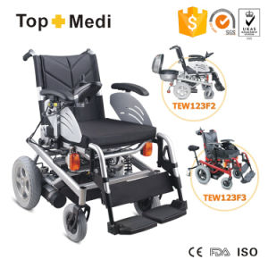 Deluxe Heavy Powered Wheelchair with Steel Frame pictures & photos