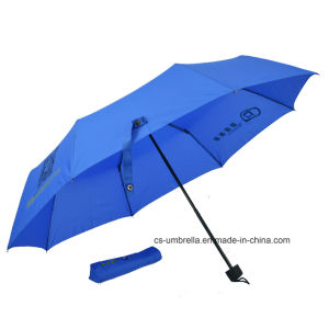 Windproof Frame 3 Folding Advertising Umbrella (YS3F0007) pictures & photos