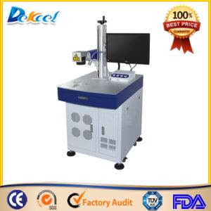 China Cheap Desktop CNC Fiber Laser Marking Machine Price Sale pictures & photos
