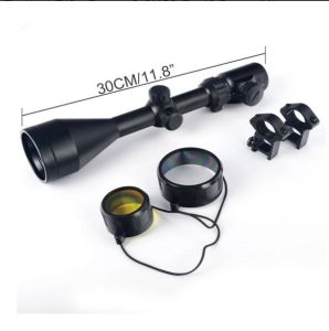 Tactical Rifle Scope 3-9X56 Red&Green Mil-DOT Illuminated Optics Optical Scope pictures & photos