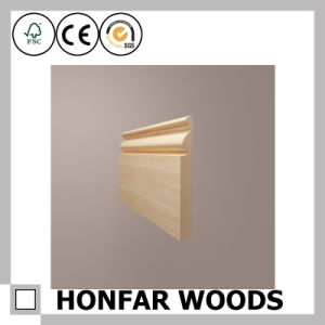 Modern Design for House Flooring Decor Wood Skirting pictures & photos