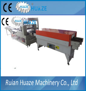 Automatic Shrink Packaging Machine for Pizza, Automatic Food Package Machine pictures & photos