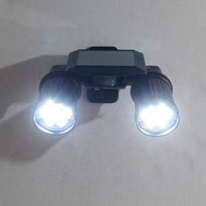 Patent LED Solar Power PIR Sensor Light Waterproof IP44 Garden Solar Wall Soptlight pictures & photos