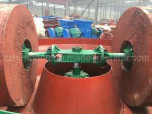 Two Roller Wet Pan Mill/ Gold Ore Wet Pan Mill pictures & photos