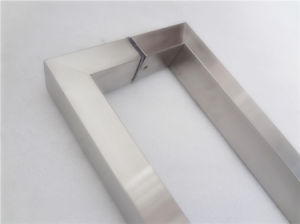 O Style Stainless Steel Hinges Door Handle pictures & photos