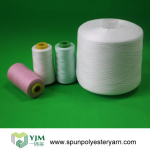 Spun Yarn for Polyester Sewing Thread Production pictures & photos