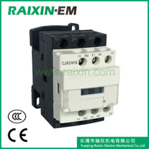 Raixin New Type Cjx2-N18 AC Contactor 3p AC-3 380V 7.5kw