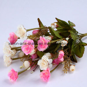 Cheap Rose Artificial Flowers Flower Bouquet with 30heads pictures & photos