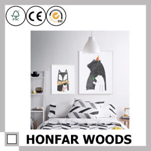 Simplicity Black Wood Painting Poster Frame for Home Decoration pictures & photos