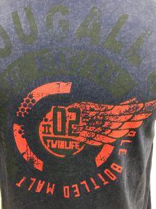 Wholesale Plain T-Shirt for Men with Snow Wash pictures & photos