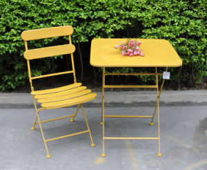 Morden Wrought Iron Patio Table Set pictures & photos
