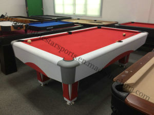 Cheapest Price MDF Double Star Billiard Table for Sale pictures & photos